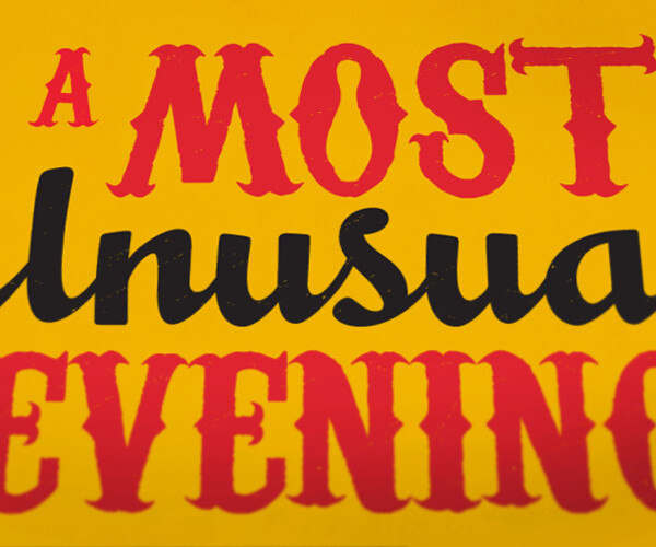 Most Unusual Evening 2013 Invitations