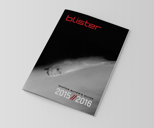 Blister Winter Buyer's Guide 2015/2016