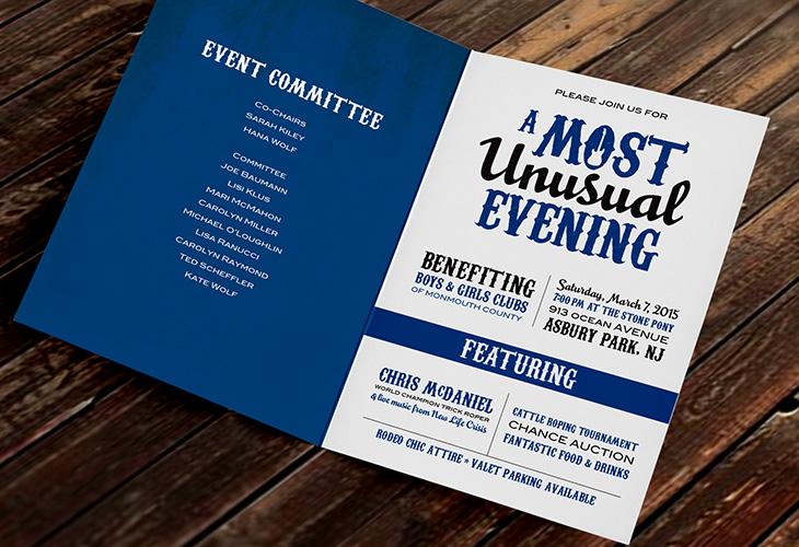 Most Unusual Evening 2015 Invitations   Corinne Karl Design