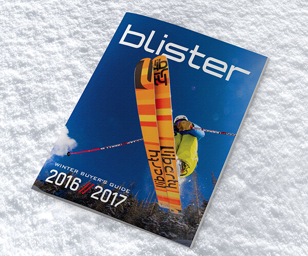 Blister Winter Buyer's Guide 2016/2017