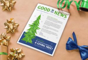 Habitat for Humanity, Non-profit holiday newsletter, holiday newsletter, Christmas newsletter, Good News