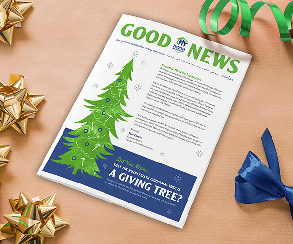 Habitat for Humanity Trenton Holiday Newsletter