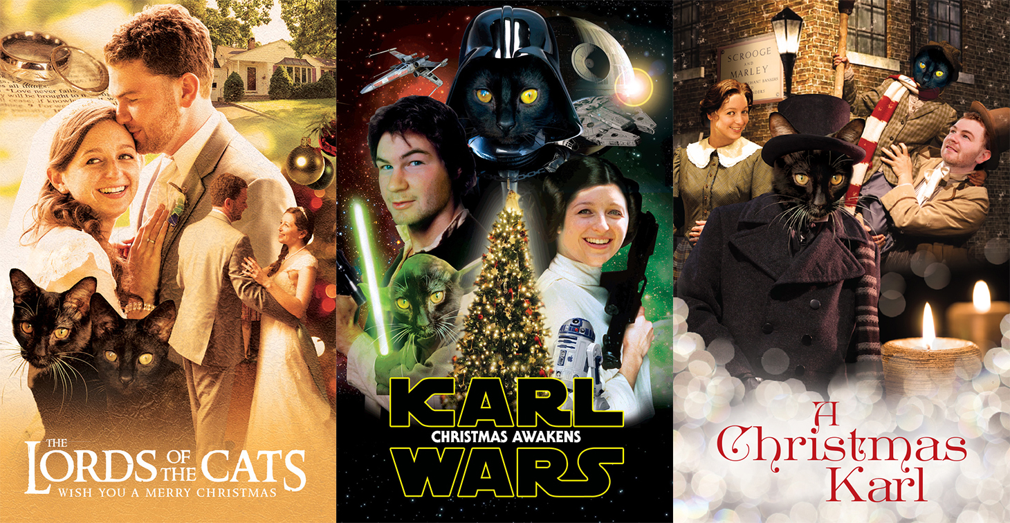 Lord of the Rings, Star Wars, A Christmas Carol