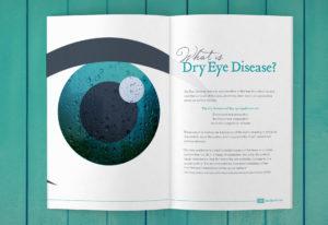 Red Bank eye doctor, Rebrand, Brochure, Dry Eye
