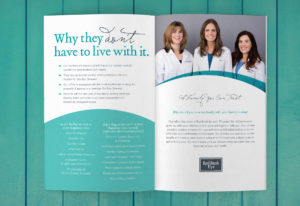Red Bank eye doctor, Rebrand, Brochure, Dry Eye