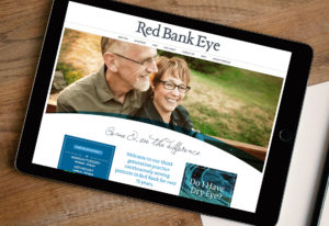 Red Bank eye doctor, Rebrand, Website