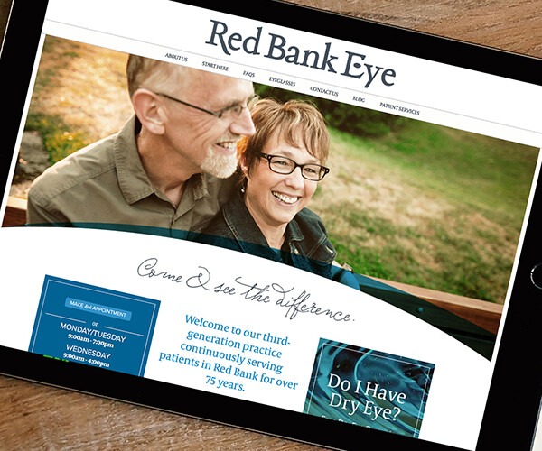 Red Bank Eye Rebrand