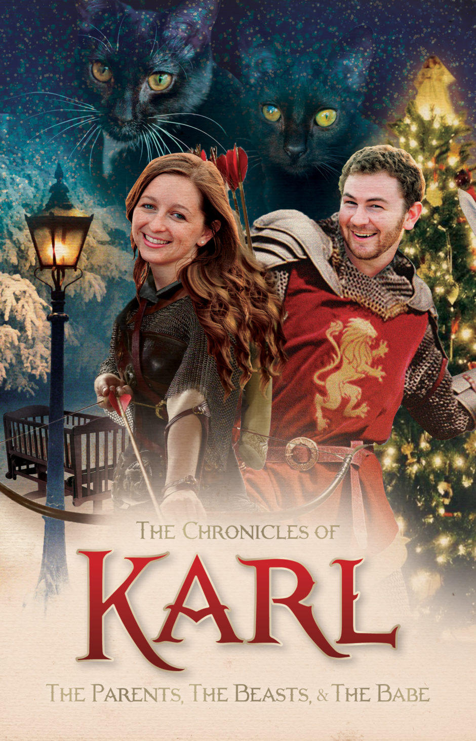 growing business, growing family, Chronicles of Narnia, Christmas Card